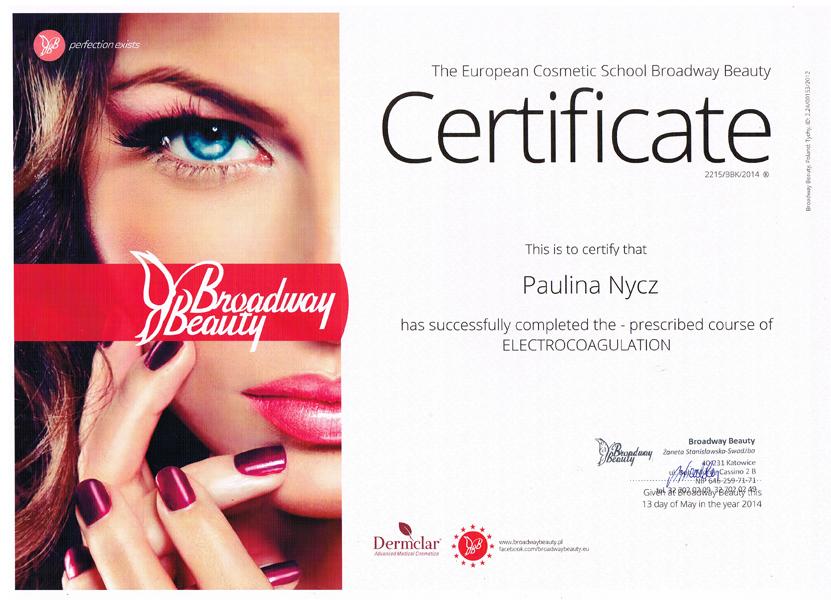 Certyfikat-uczestnictwa-w-kursie-Electrocoagulation-European-Cosmetic-School-Broadway-Beauty-1.jpg