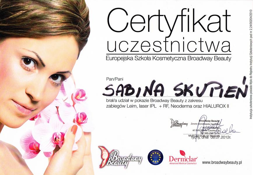 Certyfikat-uczestnictwa-European-Cosmetic-School-Broadway-Beauty-–-pokaz-z-zakresu-zabiegów-Leim-laser-IPL-RF-Neoderma-oraz-HIALURX-II.jpg